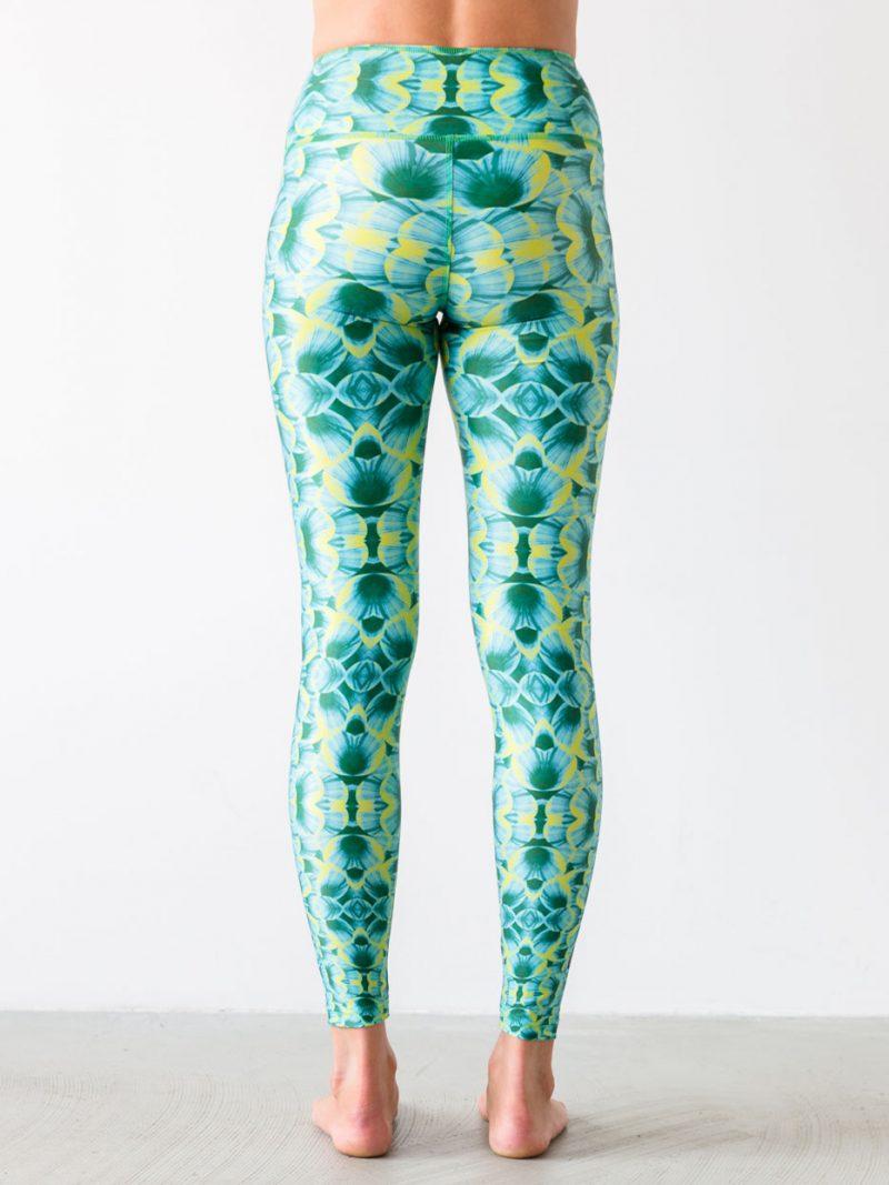 Leggings Mytilus Green Back