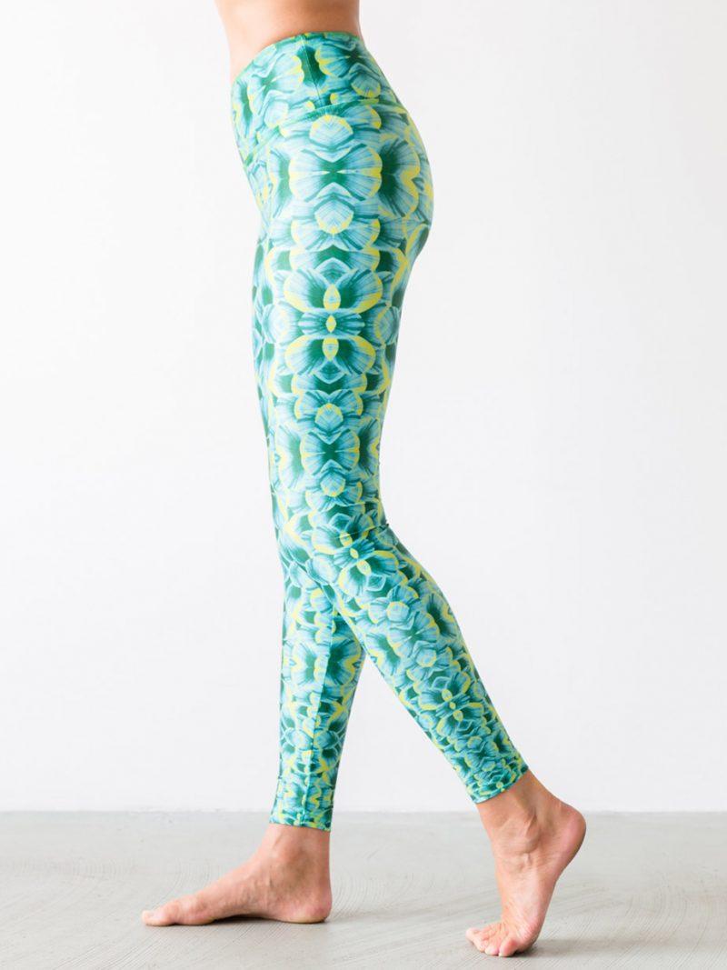 Leggings Mytilus Green Side