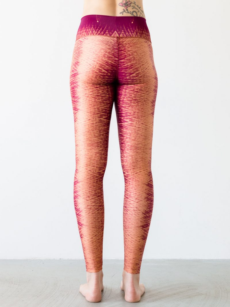 Leggings Winddrawings Red Back