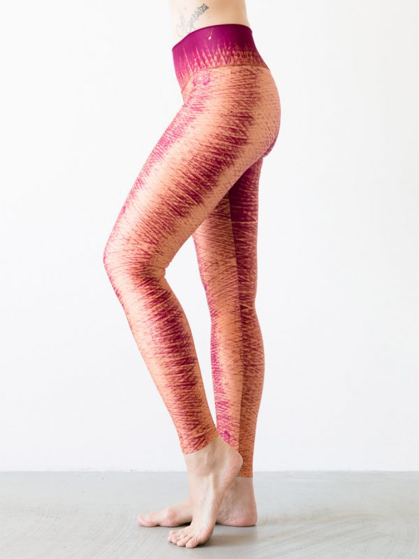 Leggings Winddrawings Red Side