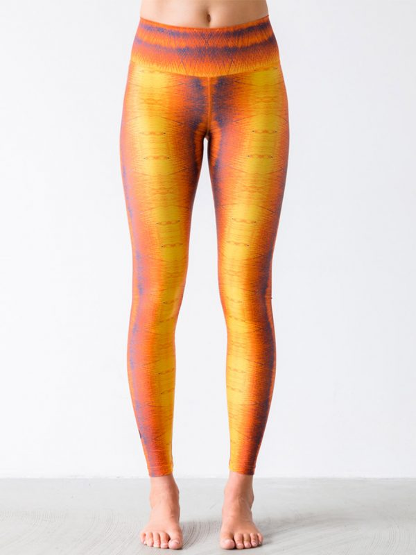 Leggings Winddrawings Yellow Front
